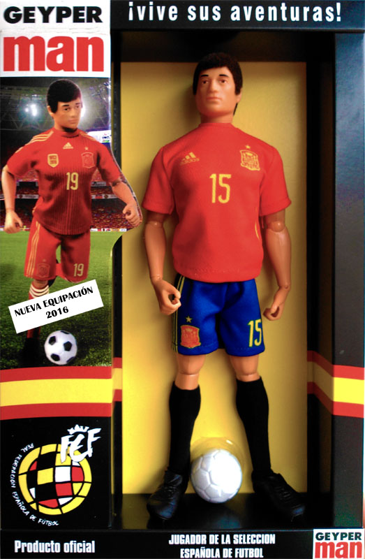 Geyperman spanish team soccer player 2016