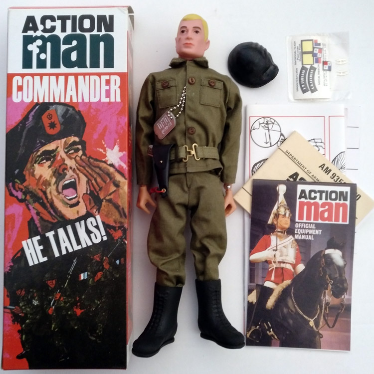 Action Man figura Talking Commander 40 aniversario