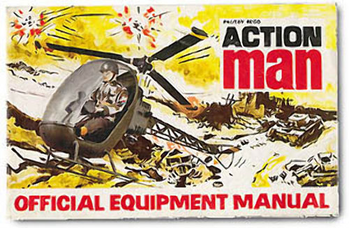 Reproduction Action Man catalog 1973