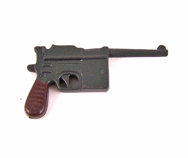 German Mauser C96 machine pistol.