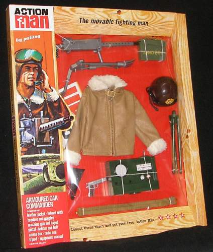 Action Man uniforme Comandante de tanques
