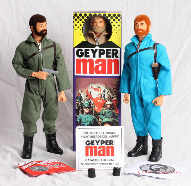Geyper Man basic figure 7000A