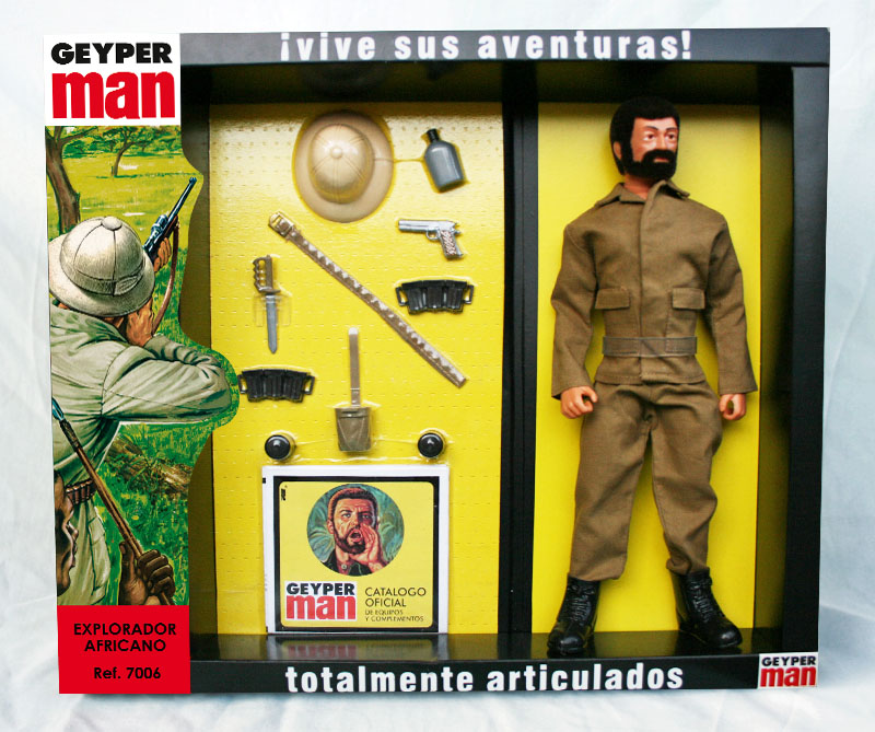 Geyperman African explorer 7006 Basic set