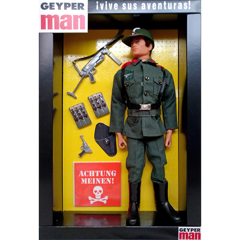 Geyper Man german Flakkorps 7079