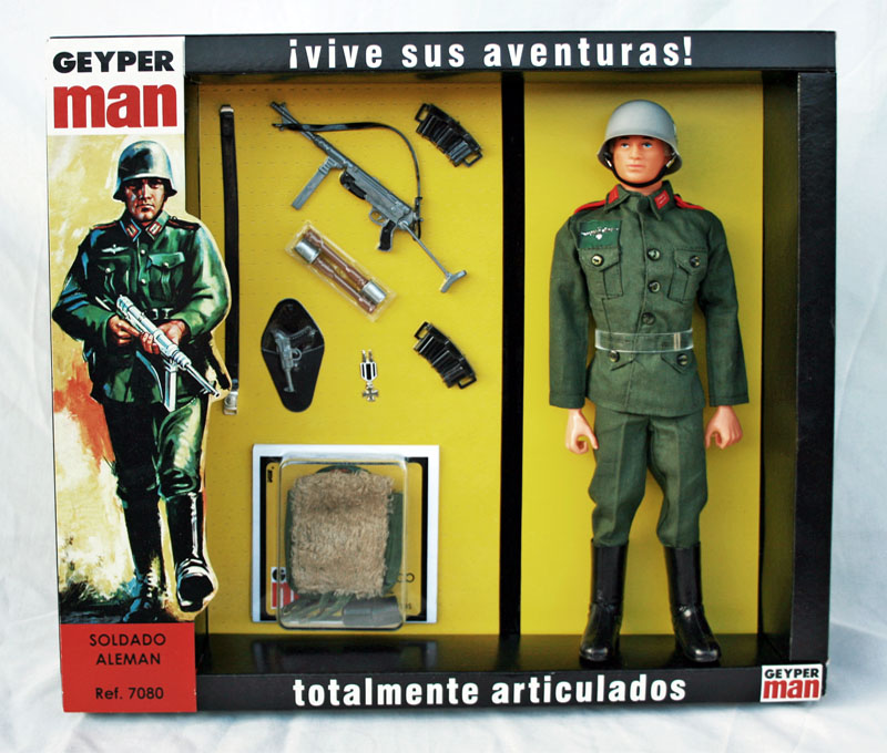 Geyper Man german soldier 7080