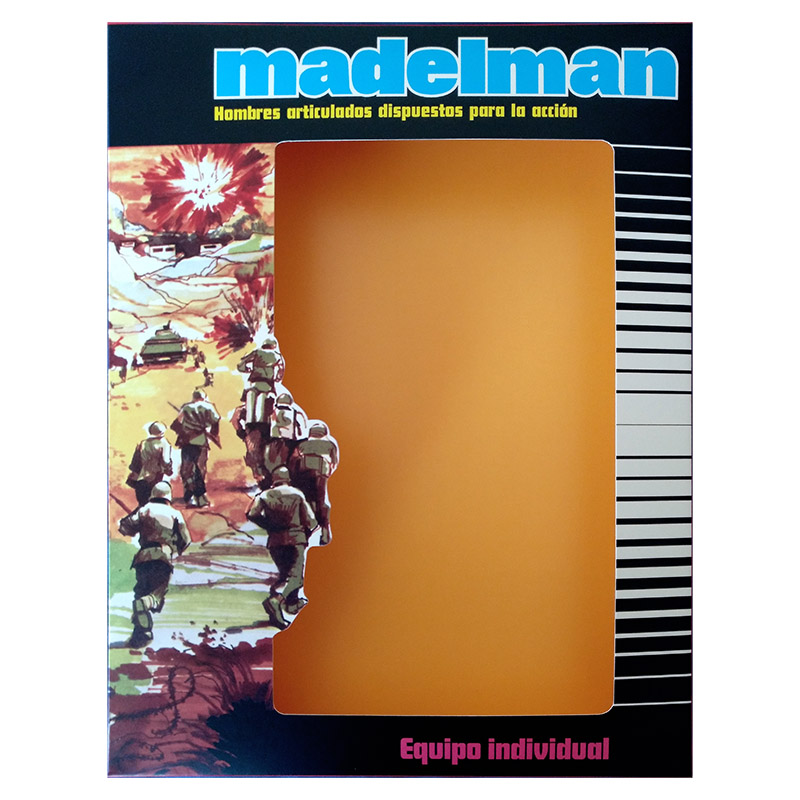 Madelman - IIndividual Army 2nd issue box