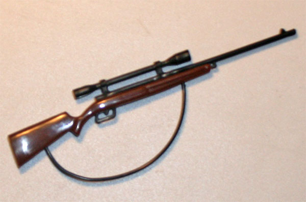 Hunting rifle 1/10 scale