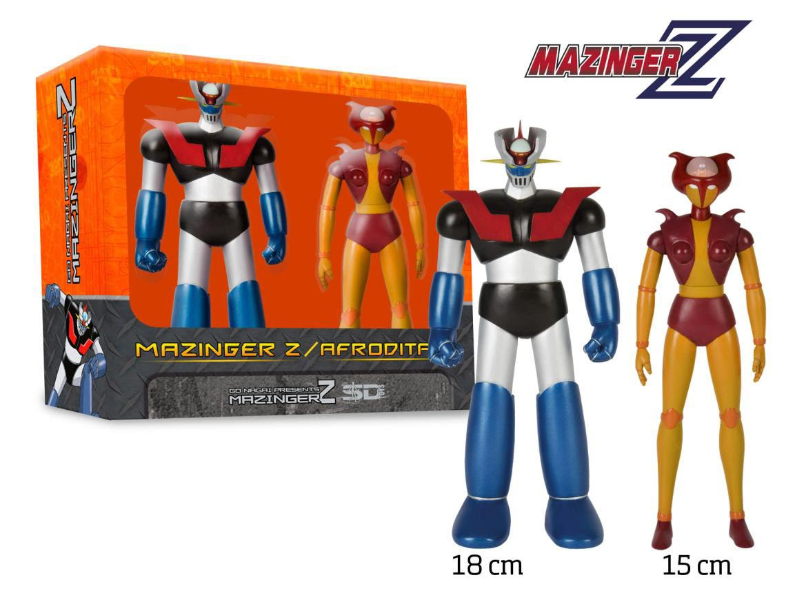 Mazinger and Afrodai set of two figures