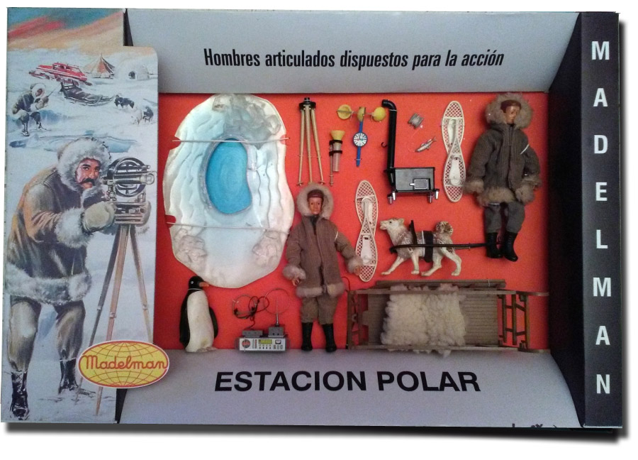 Madelman Polar set repro box