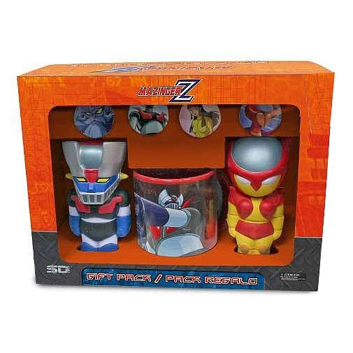 Mazinger Z set regalo