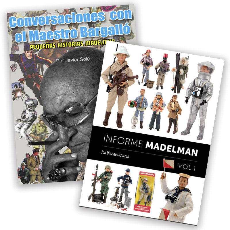 Madelman Books pack