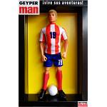 Geyperman soccer kit - red and white