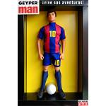Geyperman soccer kit - red and blue