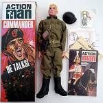 Action Man 40th TALKING COMMANDER figure