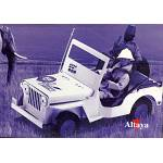 Jeep safari Madelman Altaya