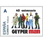 Geyperman 40th anniversary commemorative postal stamp