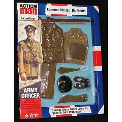 Action Man uniforme oficial britanico 1